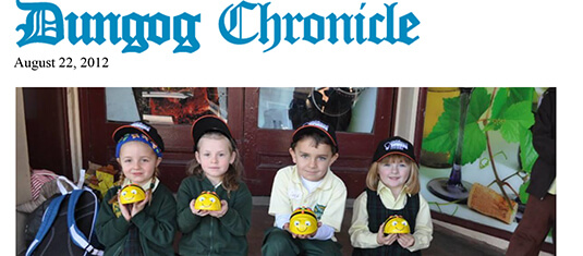 Dungog Chronicle Aug 22, 2012
