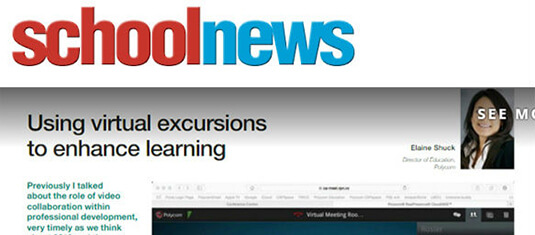 School news - Using Virtual Excursions to enhance learning