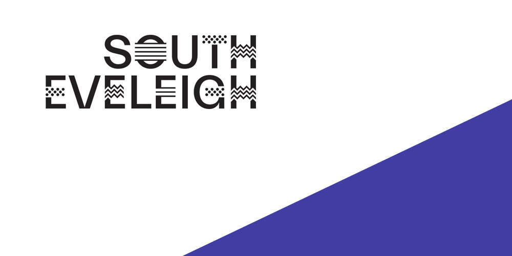outh Eveleigh logo in the top left hand corner with a purple and white background