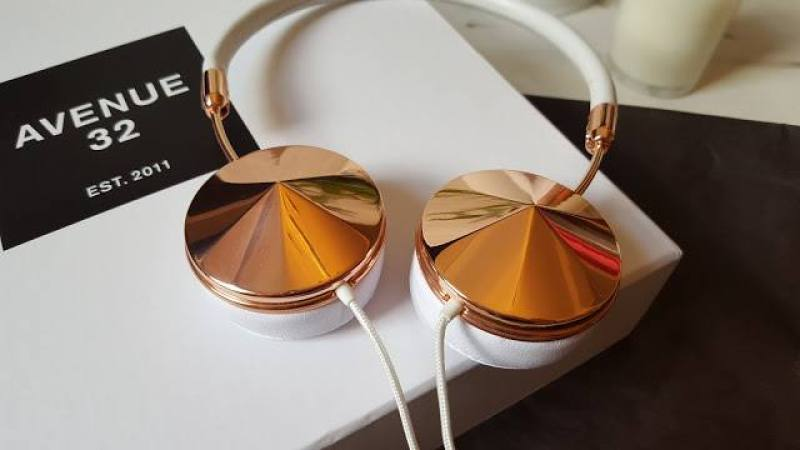 Frends Layla Rose Gold Headphones from Avenue 32