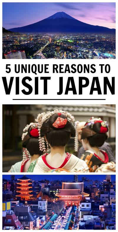 5 Unique Reasons to Visit Japan