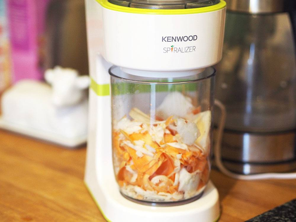 Spiralizing made simple - The Kenwood Electric Spiralizer