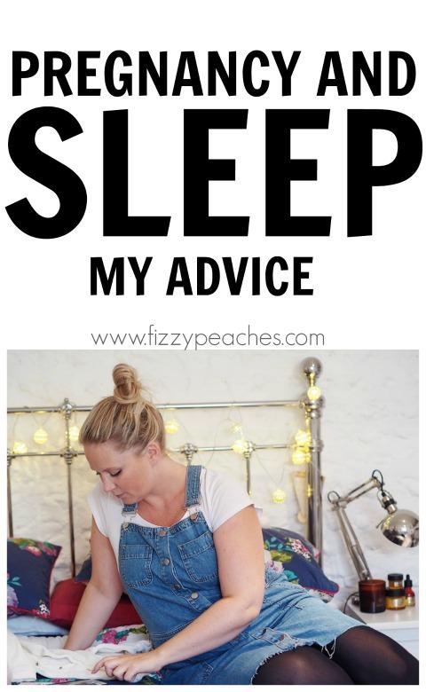 Pregnancy and Sleep - My Advice