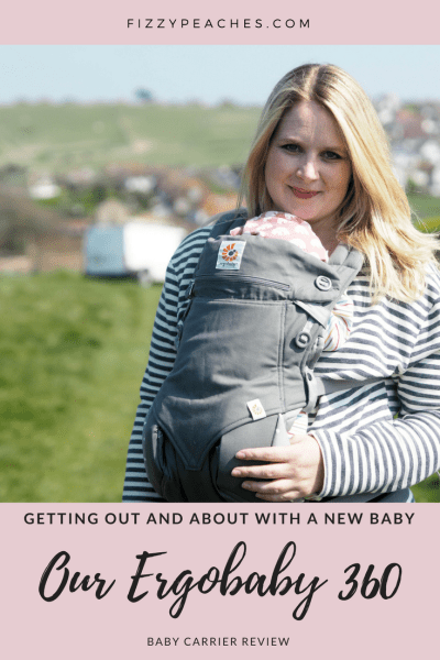 Getting out and about with a new baby: Our Ergobaby 360 baby carrier review