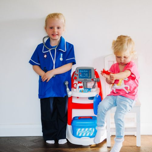 SMOBY medical rescue trolley review