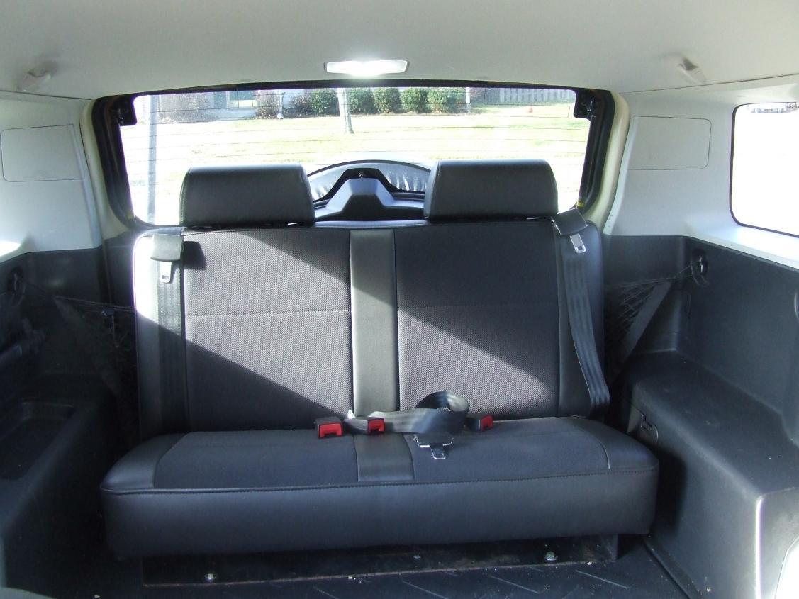 Third Row Seat Installed Toyota FJ Cruiser Forum