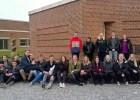 HHX-klasse på besøg hos Grundfos