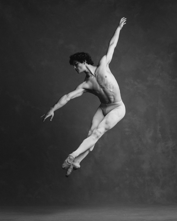 Angelo Greco of San Francisco Ballet. Photograph by Karolina Kuras