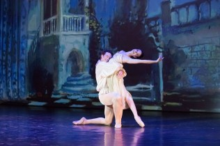 "Lauren Cuthbertson and Cory Stearns dancing MacMillan's ""Romeo and Juliet."" Photograph by Karolina Kuras"
