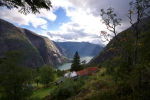Kjeåsen Mountain Farm in Eidfjord, Hardanger