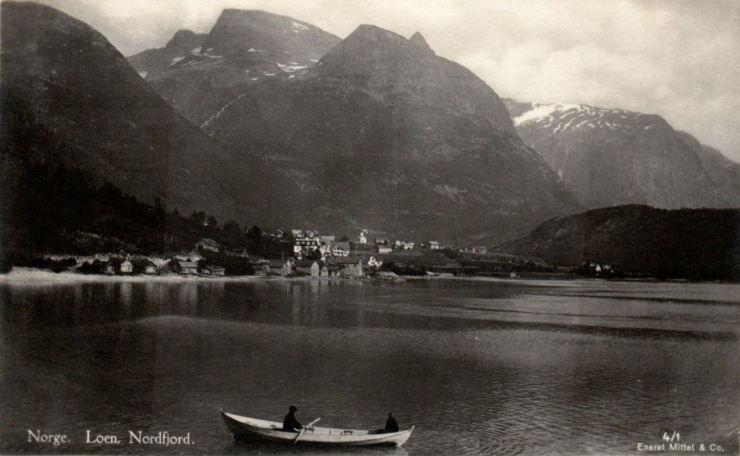 Loen in Nordfjord by the early 1900s
