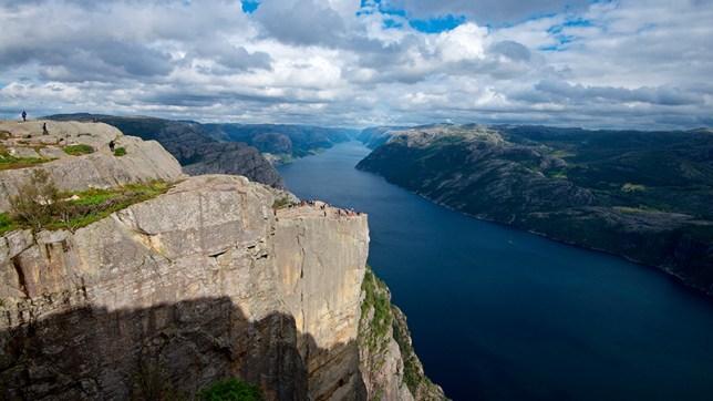 The Lysefjord and Preikestolen