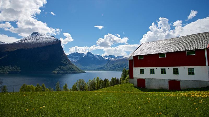 FJORDS NORGE - Klungnes i Romsdal