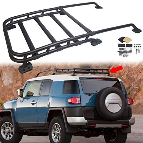 AUTOMUTO Crossbars Covers fit for Lexus GX470 4.7L 2003-2009 Black Roof Rails Rack Cover End Cap Protection 4Pcs