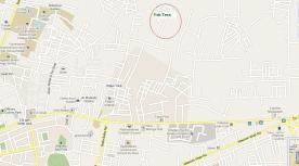 Location map Faiz Town Multan