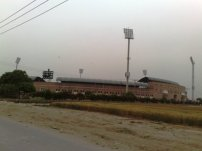 Multan Cricket Stadium view from Nayab city main gate on statdium road