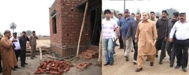 Shahbaz Sharif Visiting Aashyana Housing Lahore & Bhatta Chowk Project