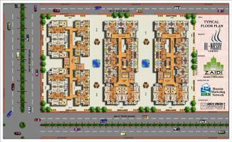 Al Wasay Towers Karachi (Typical Floor Plan)