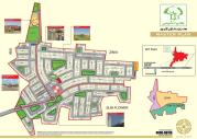 Bahria Nasheman Lahore - Location Map & Master Plan