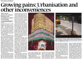 urban condition Growing pains - Urbanisation and other inconveniences 2