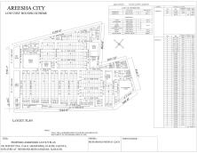Areesha City Karachi - Layout Plan or Drawing Map 2