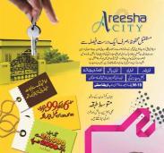 Areesha City Karachi - a housing scheme