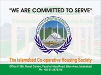 Islamabad Cooperative Housing Society (ICHS Town) Logo Banner