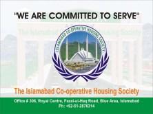 Islamabad Cooperative Housing Society (ICHS Town) Logo Banner