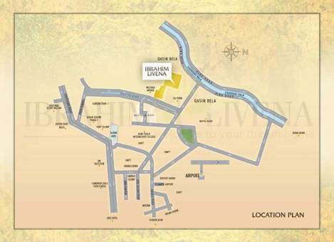 Ibrahim Livena Multan - Location Plan