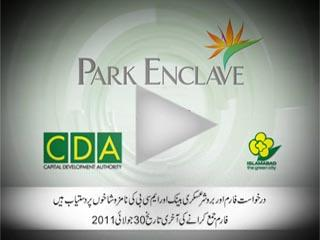 Park Enclave Housing Islamabad