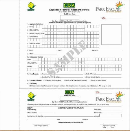 Park Enclave Islamabad Brochure 8