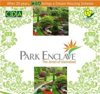 Park Enclave Islamabad Logo banner by CDA