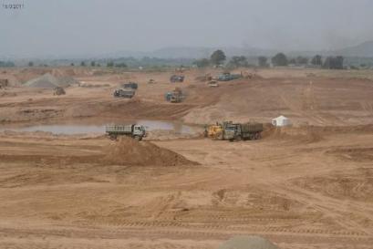 Bahria Enclave Islamabad development work -12