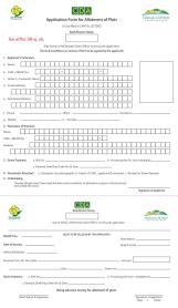 Margalla Retreat Application Form for allotment of plots
