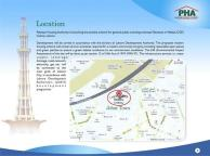 PHA Executive Apartments Lahore - Location Map or Plan