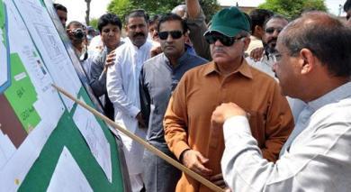Shahbaz Sharif at Ashiana housing faisalabad briefing 4-9-2011