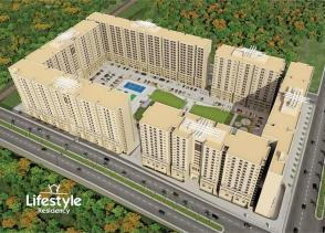 Lifestyle Residency Islamabad - Master Plan or Conceptual View of Apartments