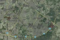 Satellite View Jatima Jinnah Town Multan