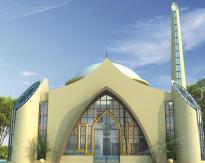 Chapal Uptown Karachi - Conceptual View Mosque