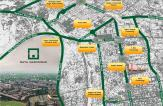 Naya Nazimabad City Housing Scheme - Location Map or Plan