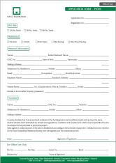 Naya Nazimabad Karachi - Application Form for Plots (Office Copy)