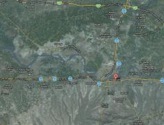 Paradise City Noshehra Satellite Map