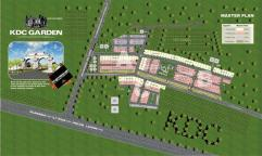 KDC Garden Jhelum - Master or Layout Plan