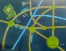 Fine City Multan Location Map