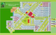 NFN employees housing scheme Phase 1 Lahore - Master Plan