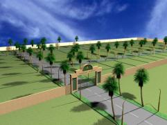 Rasheed Avenue Multan - conceptual view