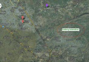 Gulberg Islamabad Satellite Map