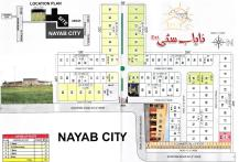 Nayab City Extension Multan - Master or Layout Plan