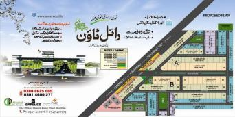 Royal Town Pindi Bhattian - Master or Layout Plan