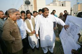 Shahbaz Sharif Visits Ashiana Housing Project Lahore